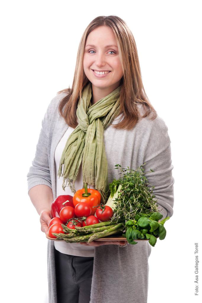 Helen Sahlstrand - leg.dietist, författare och matfotograf